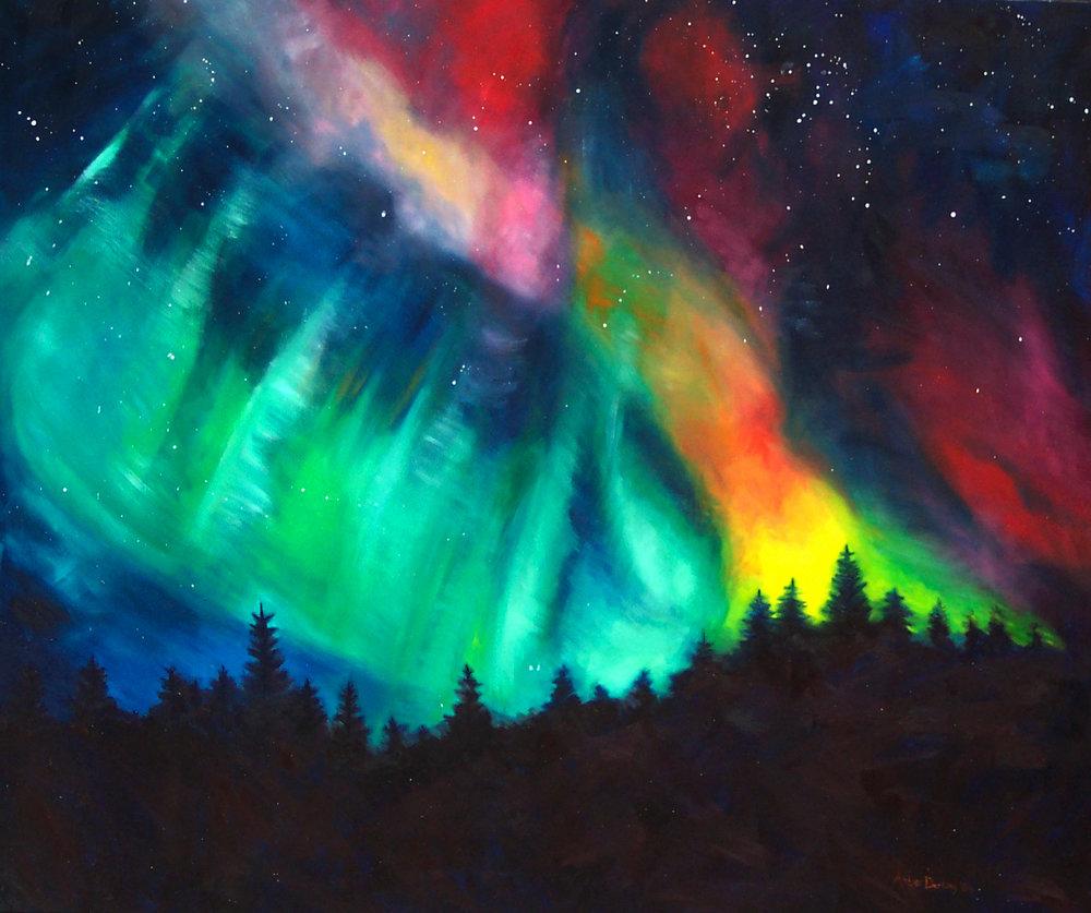 Northern Lights: Big Sky (SOLD)