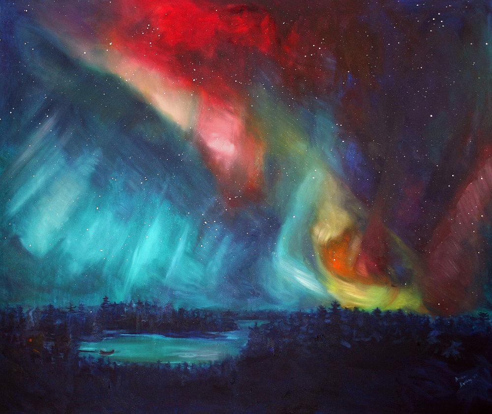 Northern Lights Lake (SOLD)