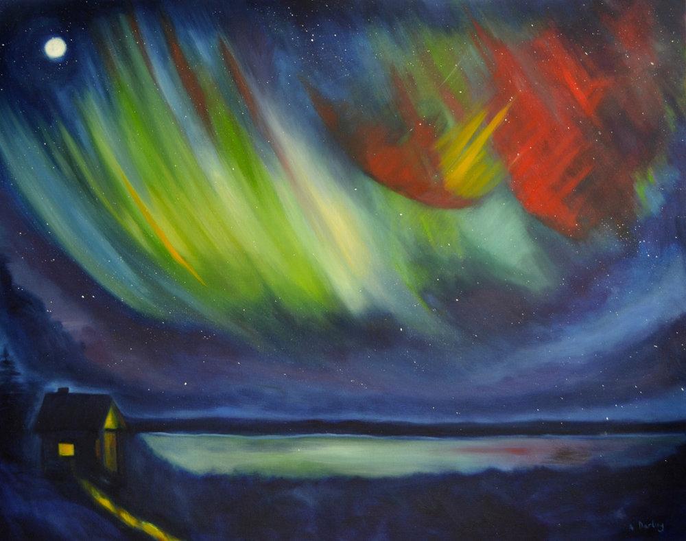 Northern Lights: Vermilion Lights