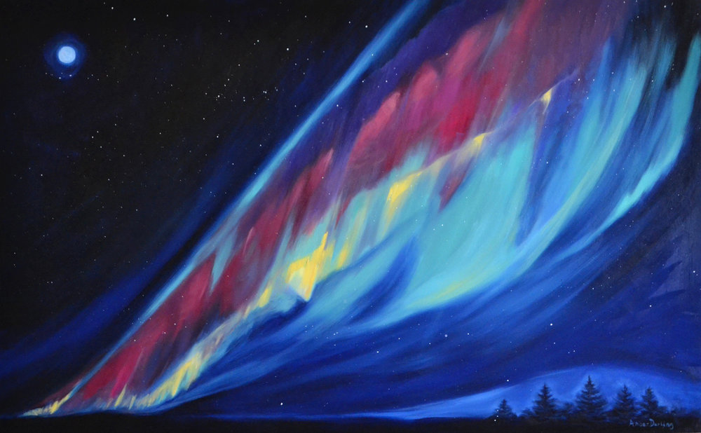 Northern Lights: Across the Sky