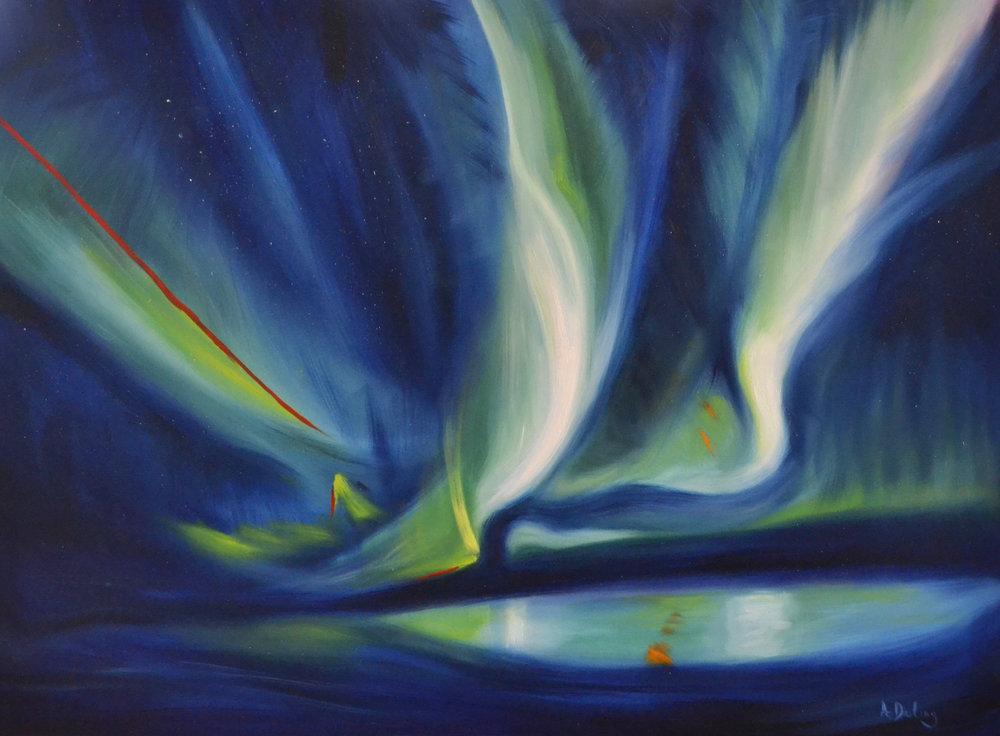 Northern Lights: Skylight (SOLD)