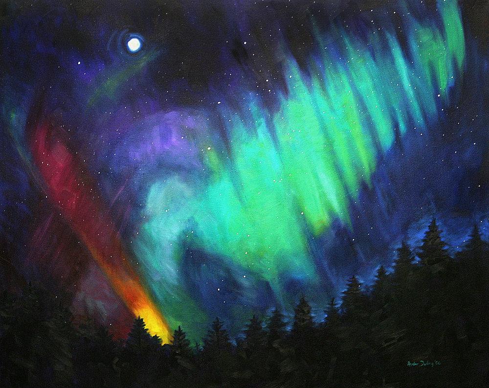 Northern Lights Comet (SOLD)