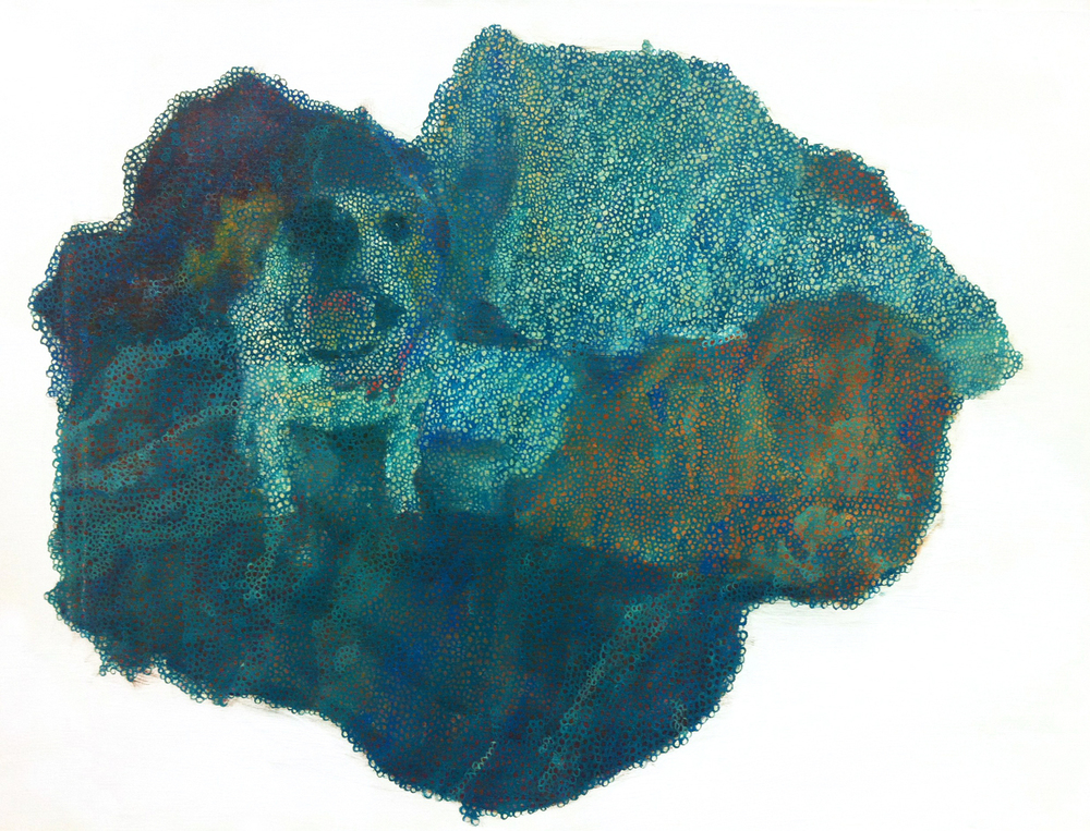 Untitled No.1  , painting, oil on linen, 50 x 70cm, 2012