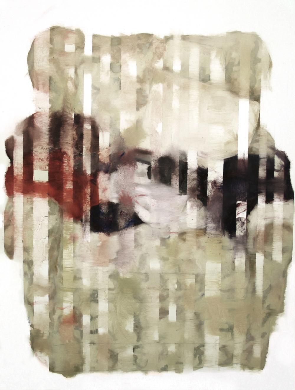 Gaps&Sofa  ,painting, oil on linen, 70 x 100cm, 2011