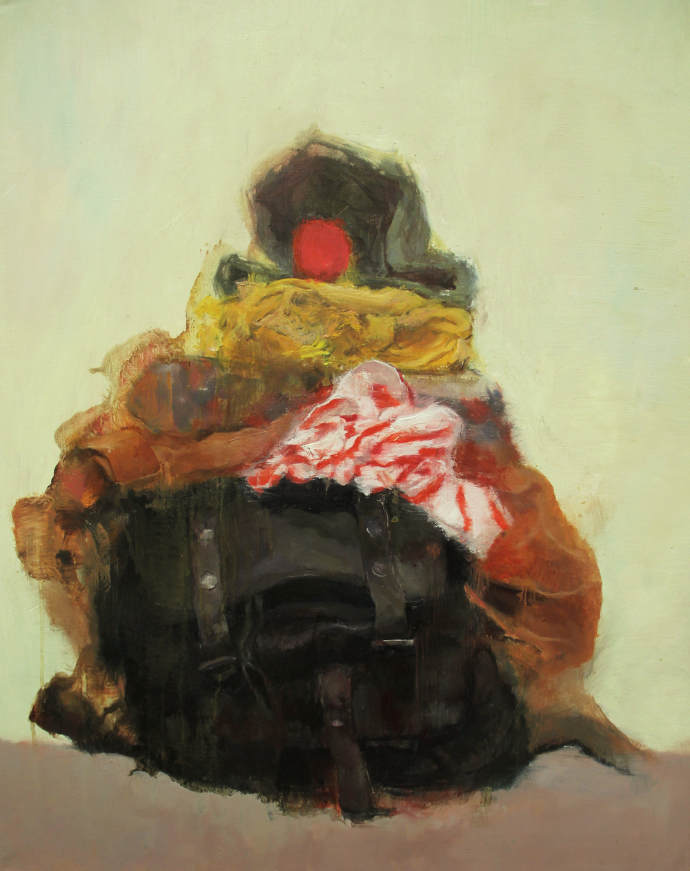 Still life  , painting, oil on linen, 70 x 50cm, 2012