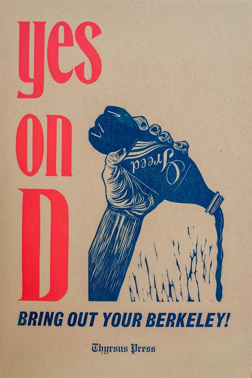 No on D - Berkeley vs. Big Soda, 2014