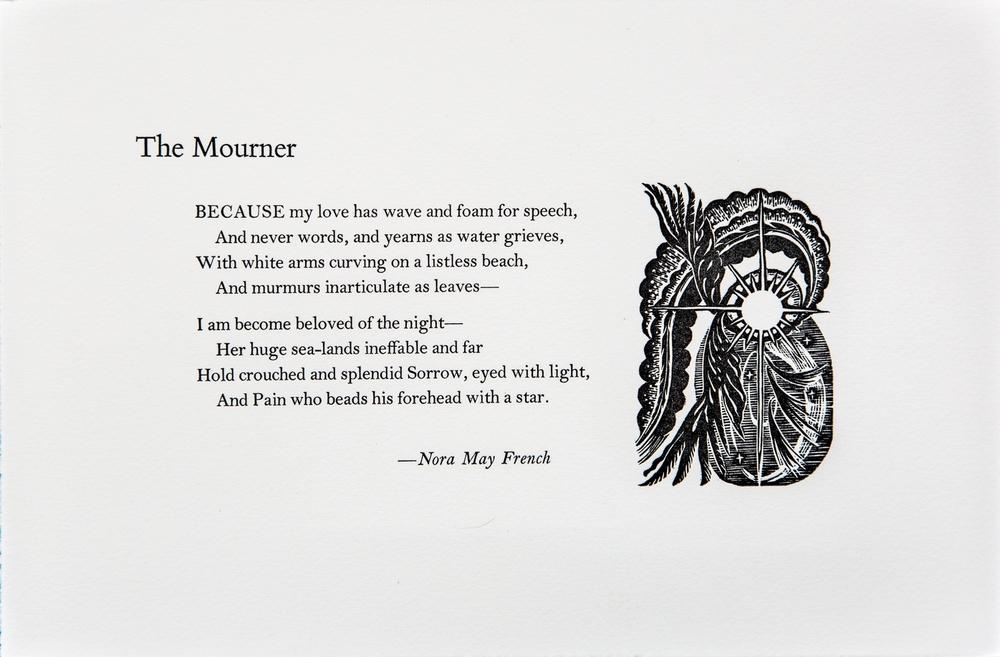 melancholy poem