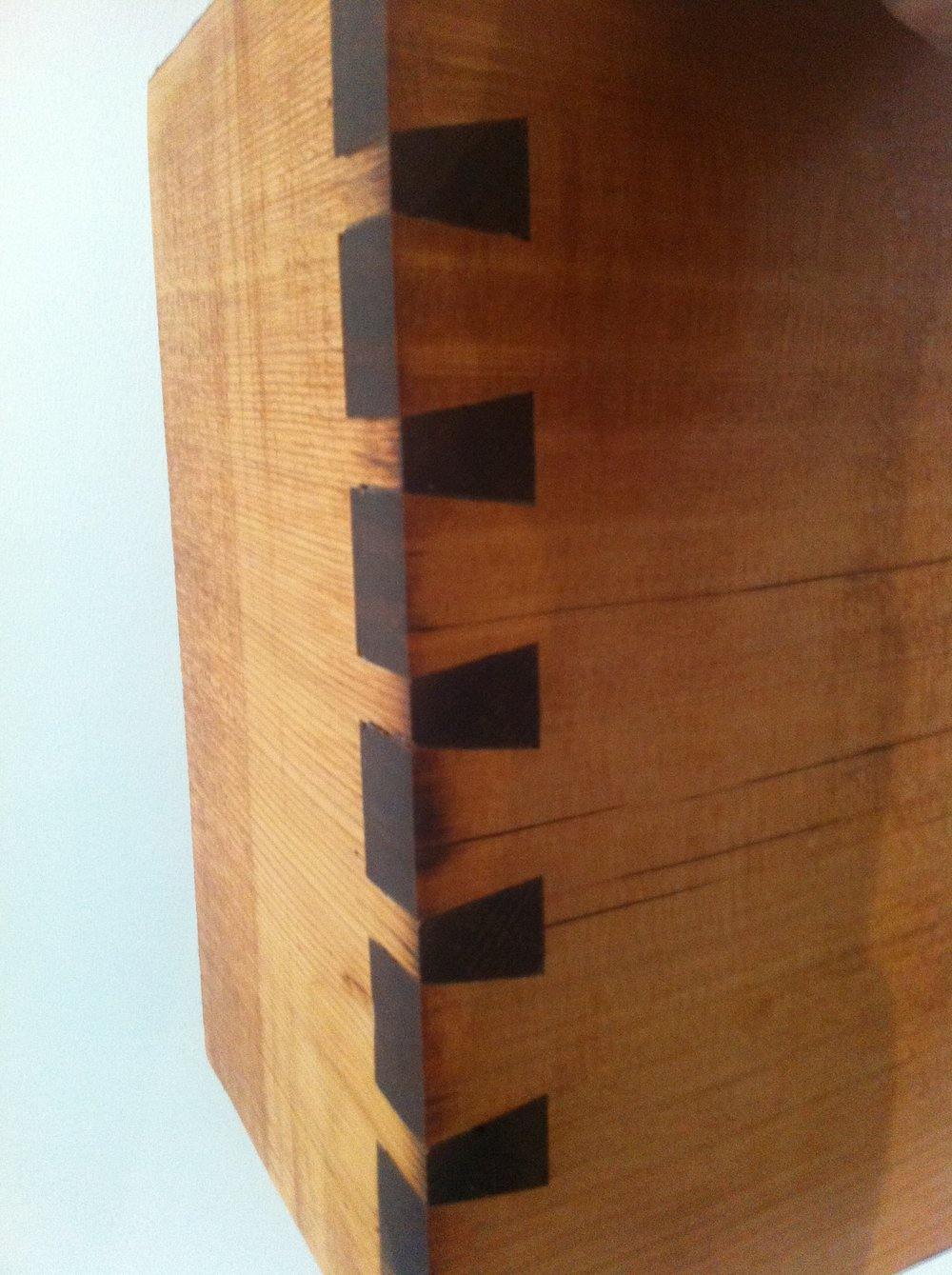 Dovetails!  I can make furniture and stuff now.