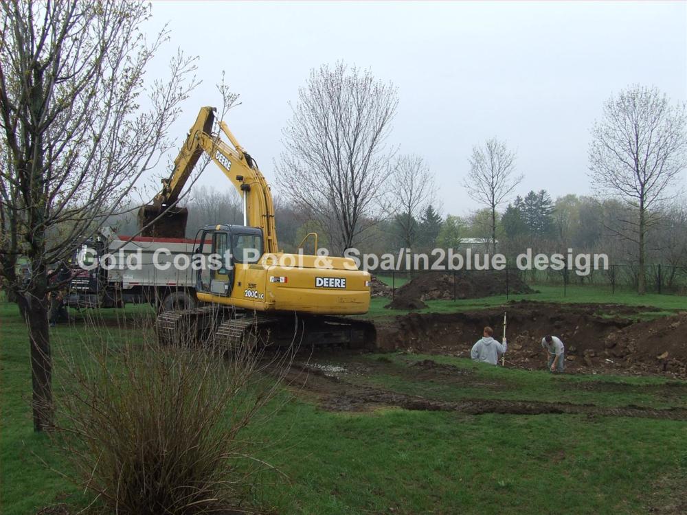 Construction Process — Gold Coast Pool & Spa