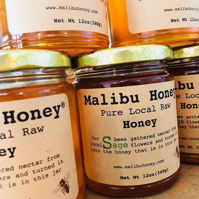 Maybe a spoonfull of local Sage Honey add to our tea this month, will help us all feel better during the cold and flu season - #rawhoney #honey #malibuhoney #lafoodie #malibu #sweetness #january #staywarm #cozy #winterseason