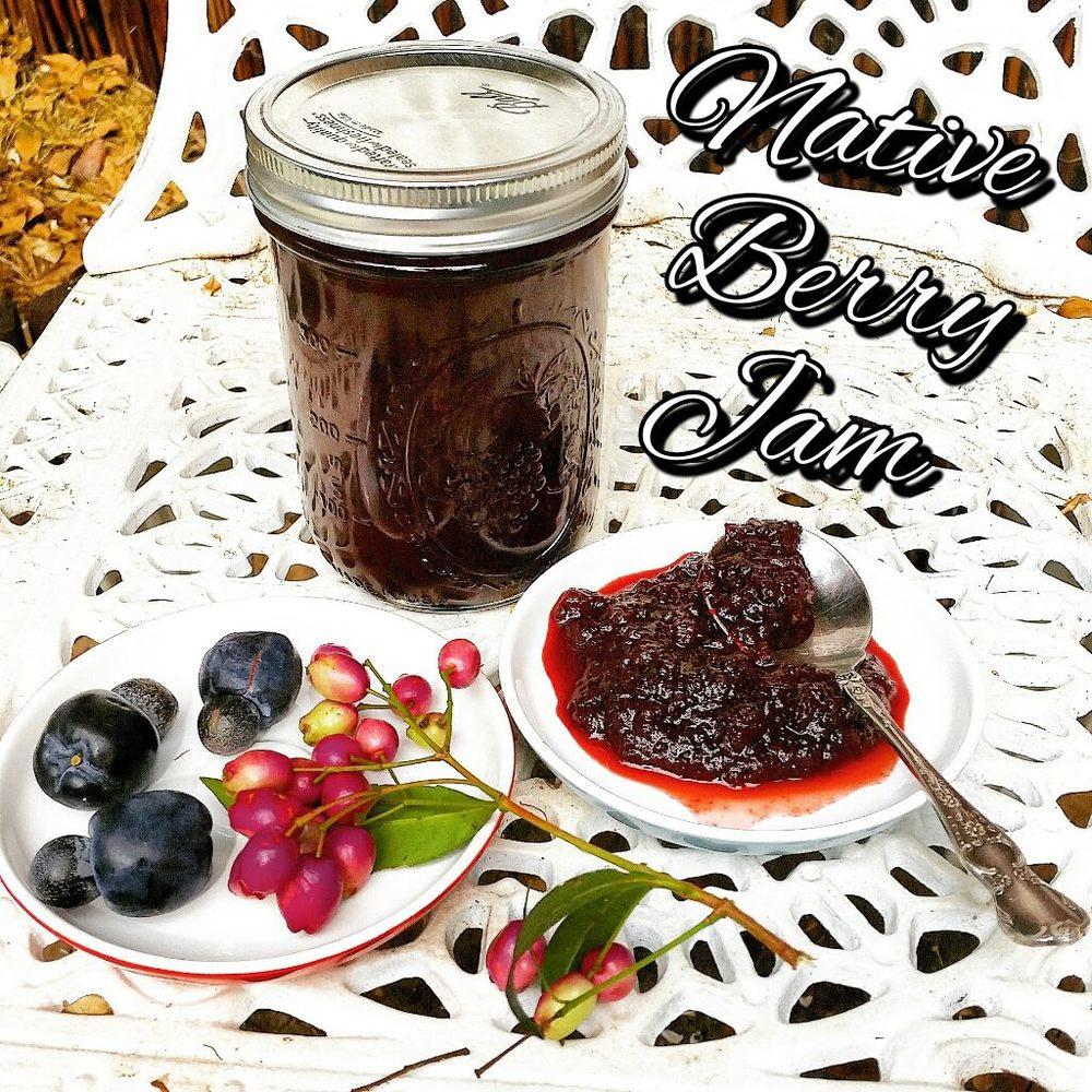 Homemade jam of Lilly Pilly and Illawarra Plum
