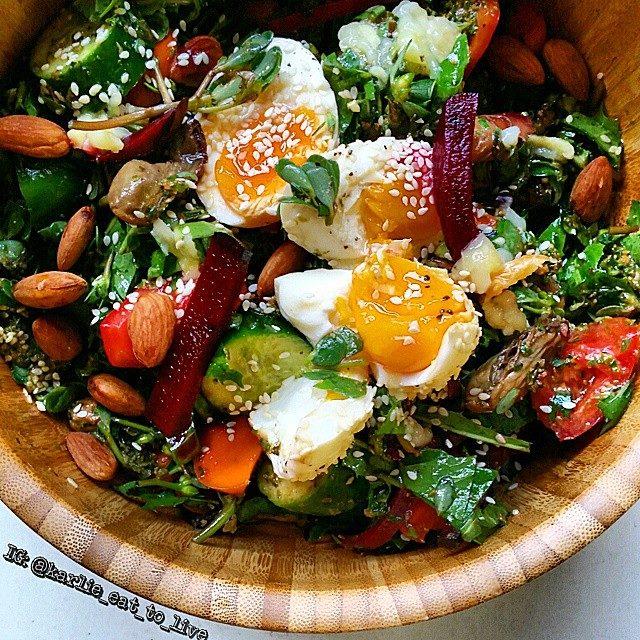 Purslane Super Salad