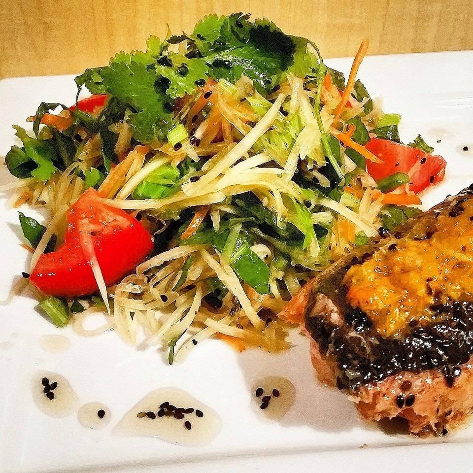 Rescued Food Salad