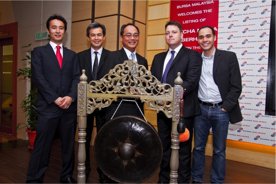 Board of Directors at the Catcha Media Berhad IPO