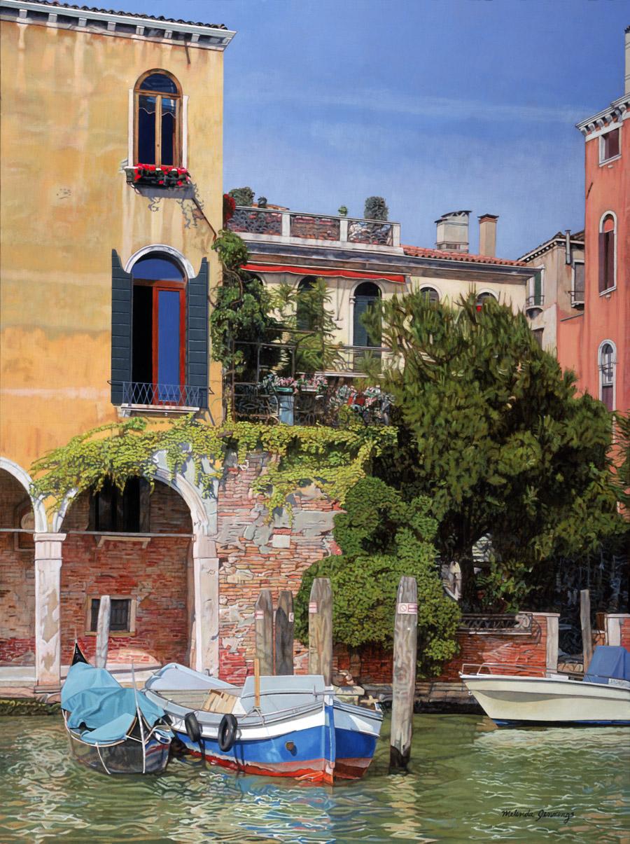 Three Boats in Venice