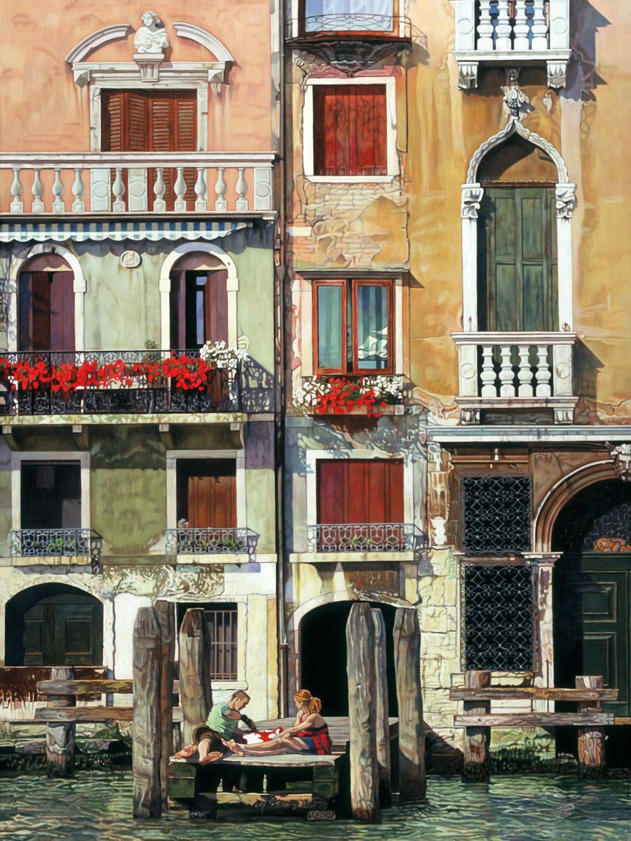 Picnic in Venice
