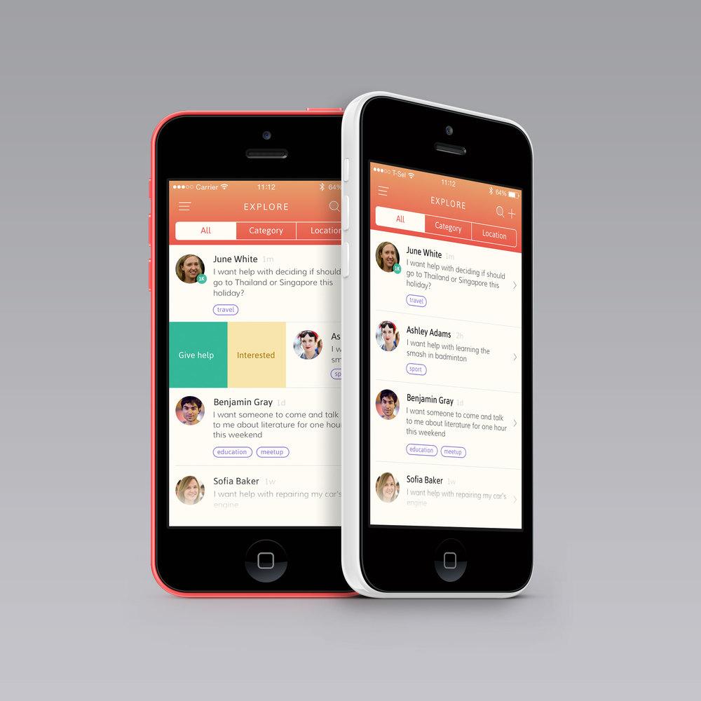 H2H iPhone app