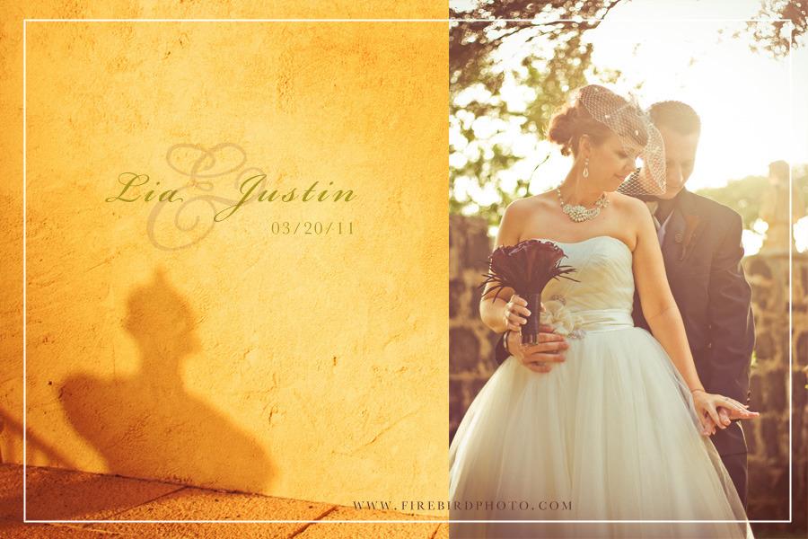 Wedding: Lia + Justin