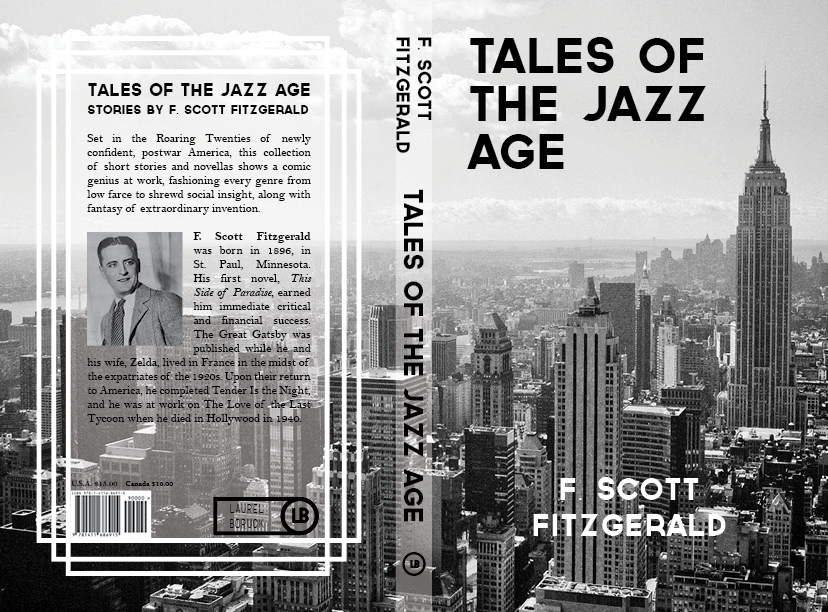 A cover for F. Scott Fitzgerald's  Tales of the Jazz Age.