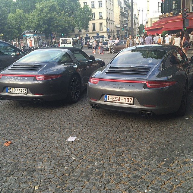 Devant le Murat..#991 #Porsche #911 #targa