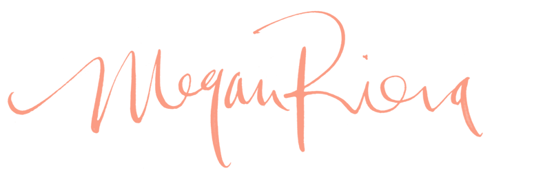 Megan riera london lettering modern calligraphy