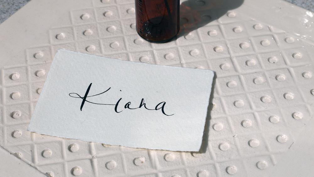 Wedding details u megan riera london lettering modern calligraphy