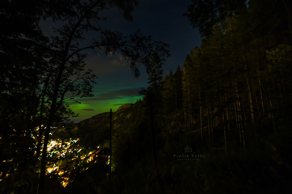 Another sighting of the Northern Lights