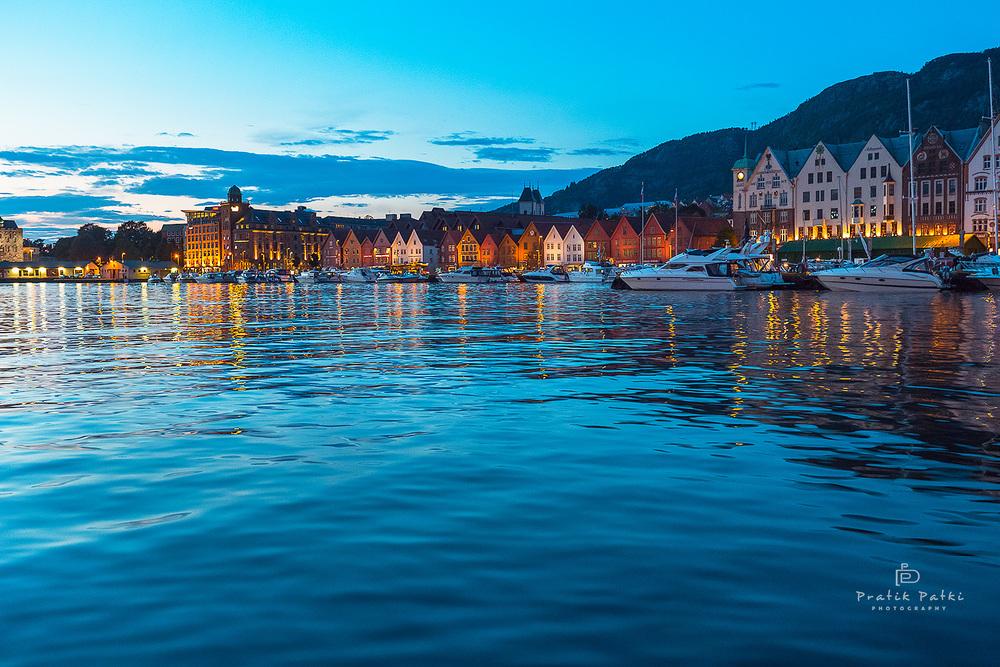 Sunset in Bergen