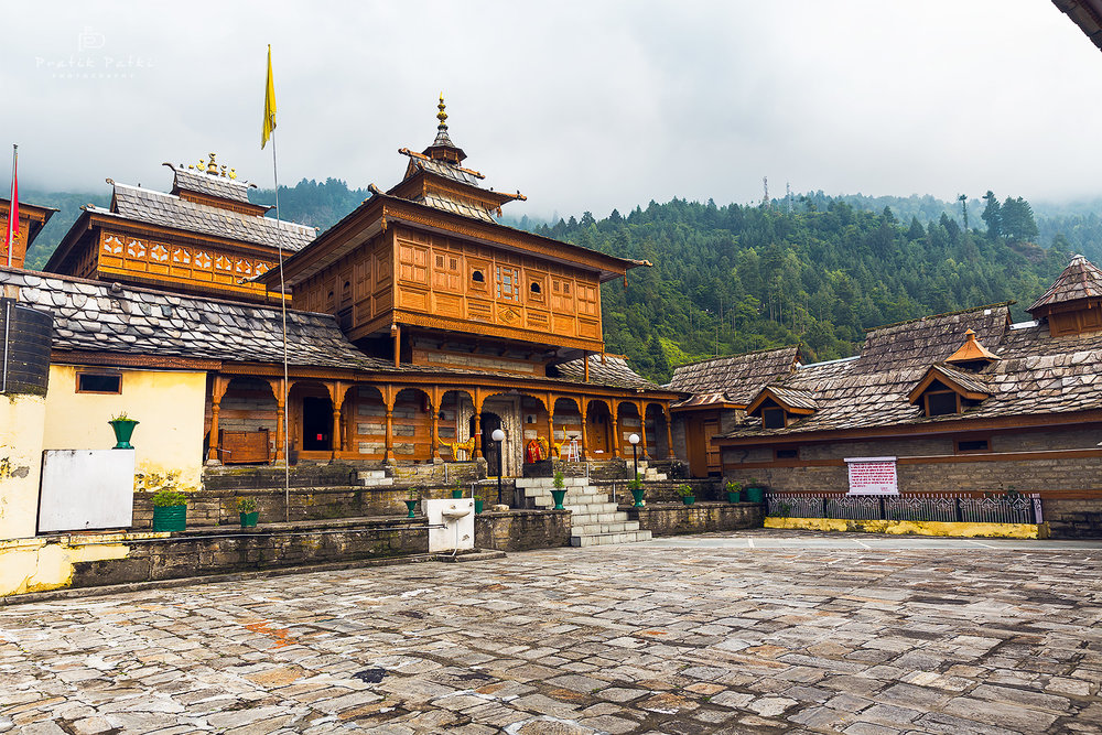 The wooden temple in Sarhan