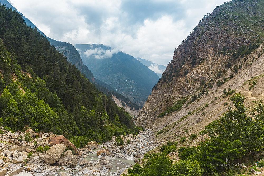 The terrain