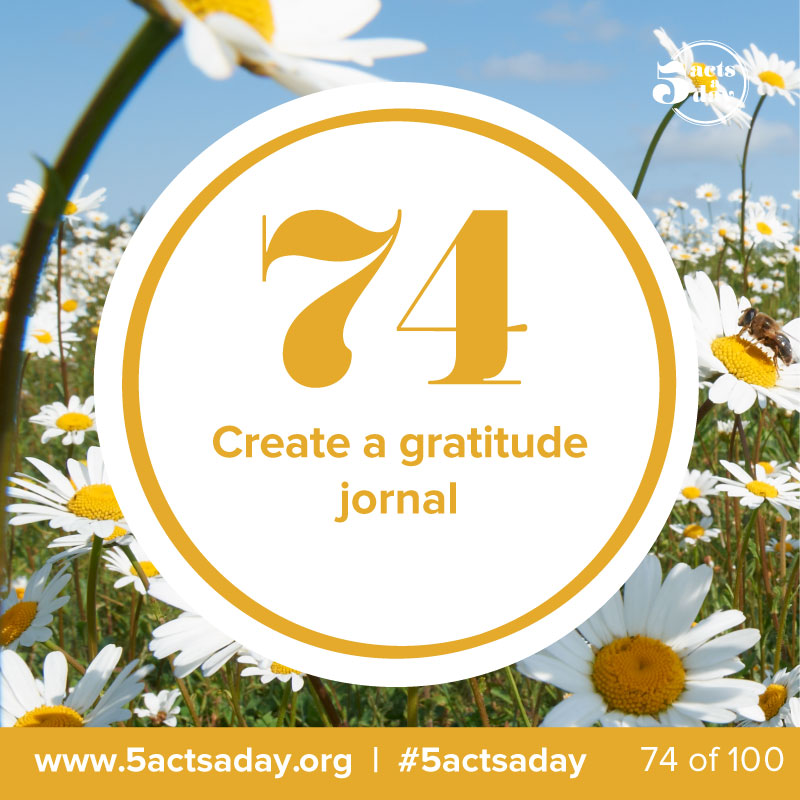 #day8 #challenge5  -   Create a gratitude journal    Write your thoughts and what you are grateful for. A year or more from now it will make a great read! You can even create a blog with your gratitude lists and reasons. Have fun