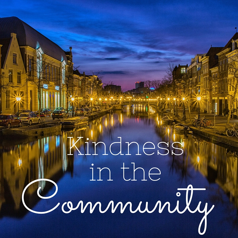 Kindness in the community