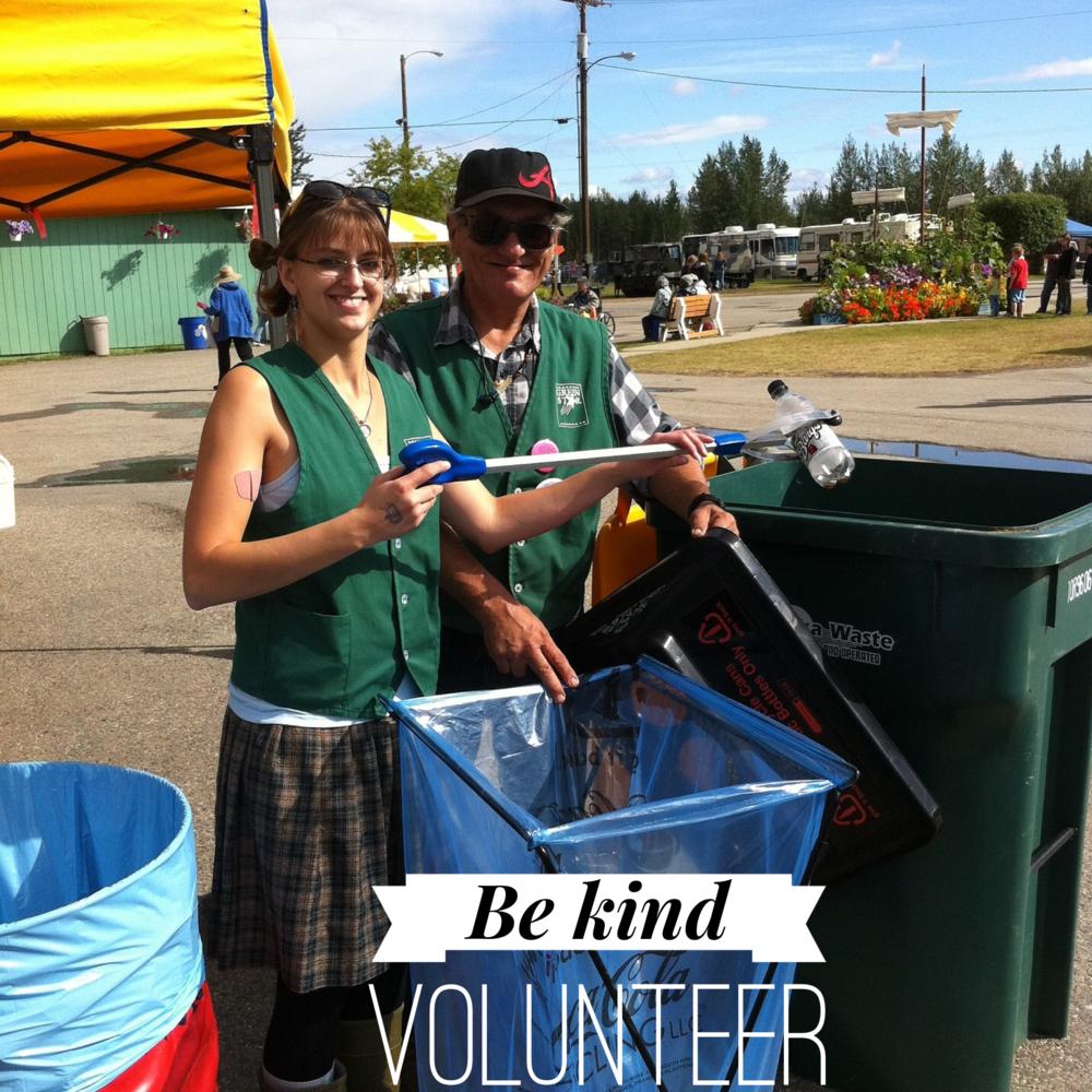 Be kind volunteer