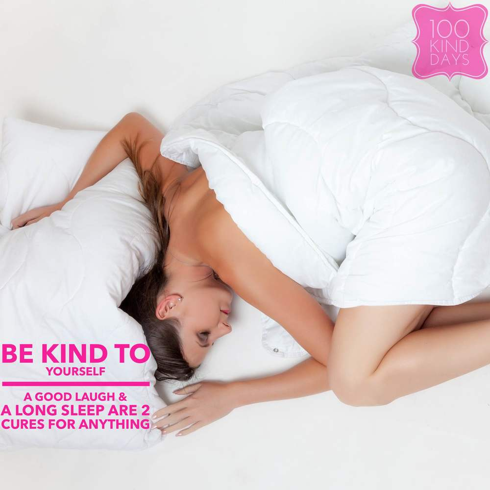 100 kind days - Be Kind to  yourself