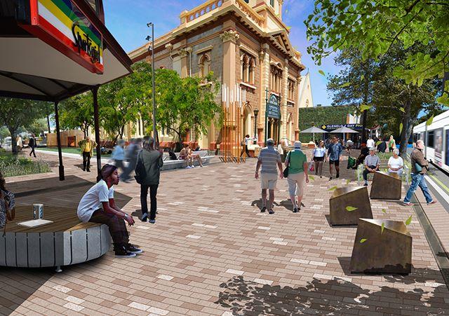 Jetty Road Glenelg Masterplan |  2018  #oxigen #landscape #landscapearchitecture #urbandesign #design #streetscape #masterplan #plaza #glenelg #jettyrdglenelg #adelaide #southaustralia