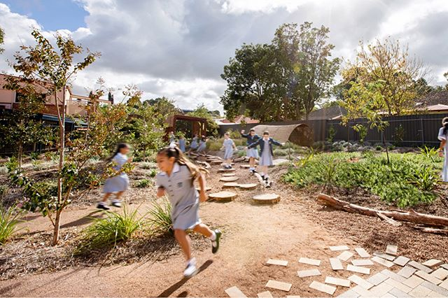 Loreto College ELC has received the Gardens Landscape Architecture Award at the recent AILA Awards 📷 @sweetlimephoto  #oxi #landscapearchitecture #design #landscape #design #adelaide #garden #aila