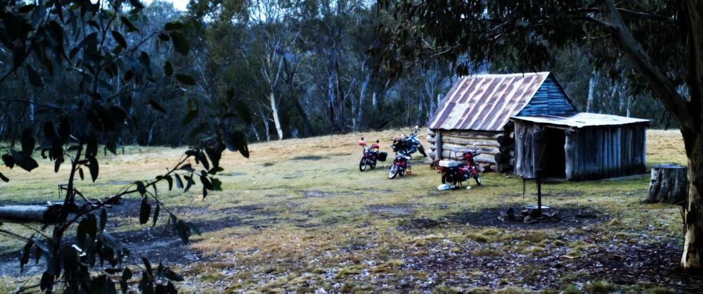 Davies Plain Hut.