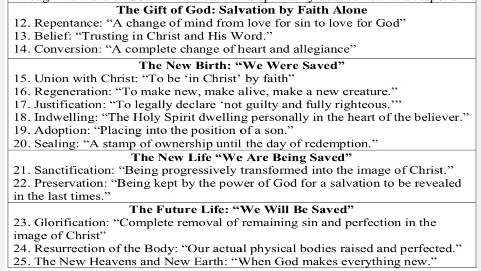 Sermon #37. CBC. 6.3.18 PM. Doctrinal Statement. Salvation PROJ.011.jpeg