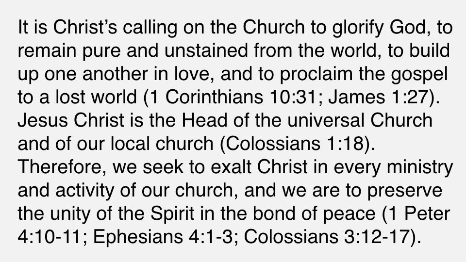 Sermon #44. CBC. 7.8.18 PM. Doctrinal Statement. Ecclesiology. pres.003.jpeg