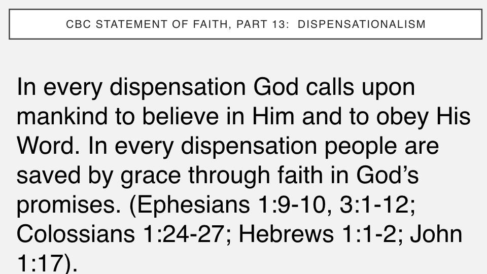 Sermon #54. CBC. 9.2.18 PM. Doctrinal Statement. Dispensationalism.006.jpeg