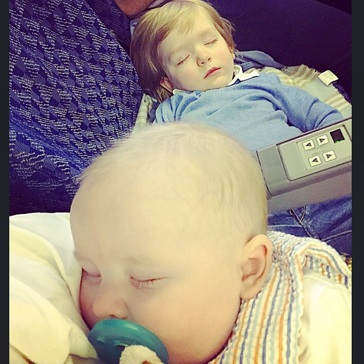 (If I am on a long flight , I just let the attendant know that once it is safe and the seatbelt sign is off, that I may need to stand up and bounce/rock for a few minutes to get someone to sleep. Occasionally they will direct you to an area where there is a little bit more space to do that ☺️)