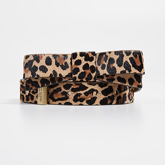 Kate Spade New York Hair Calf Bow Belt