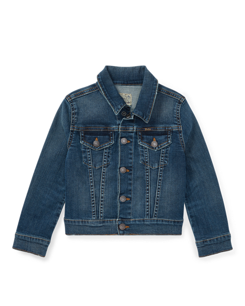Ralph Lauren Girls Denim Trucker Jacket