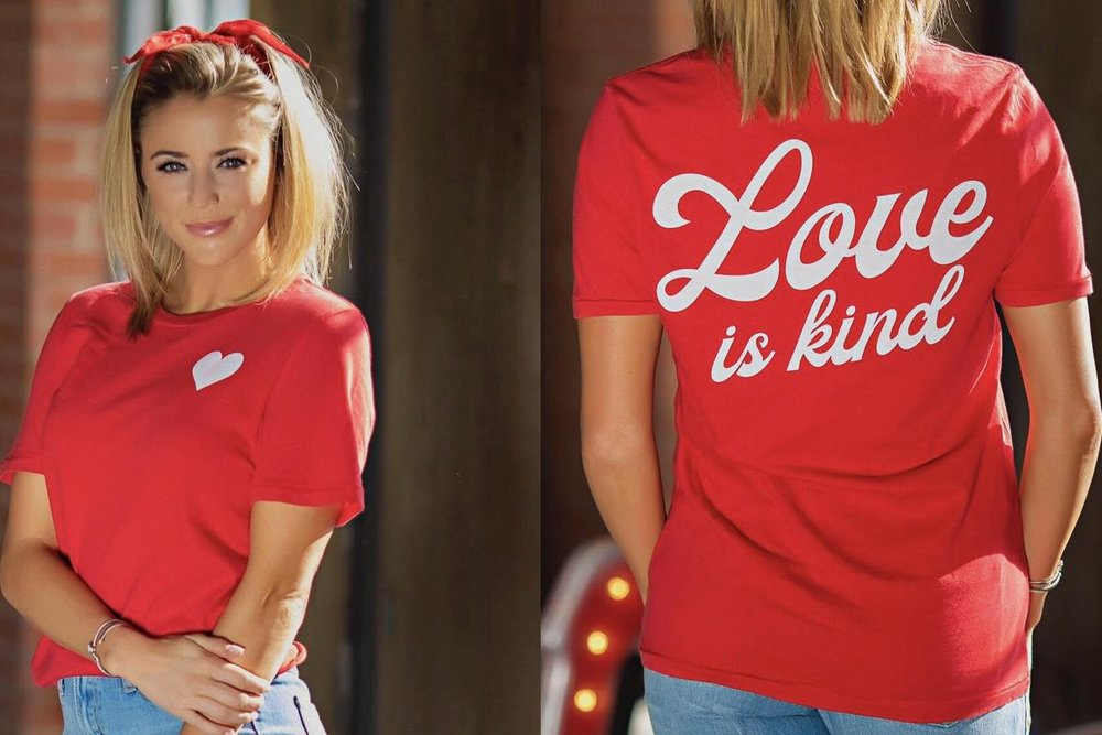 The Light Blonde - Love is Kind Tee