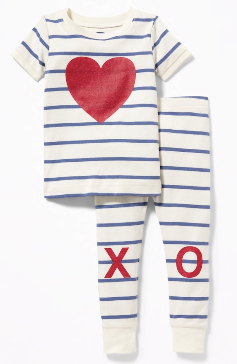 Old Navy - Heart XO Graphic Sleep Set