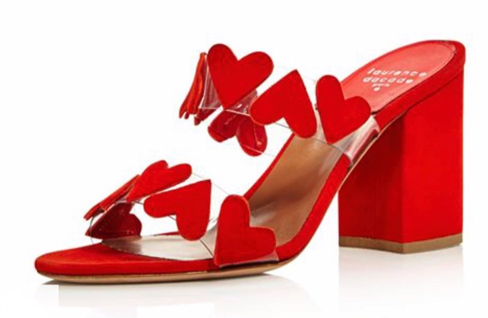 Laurence Dacade - Tara Heart Block Heel Sandals