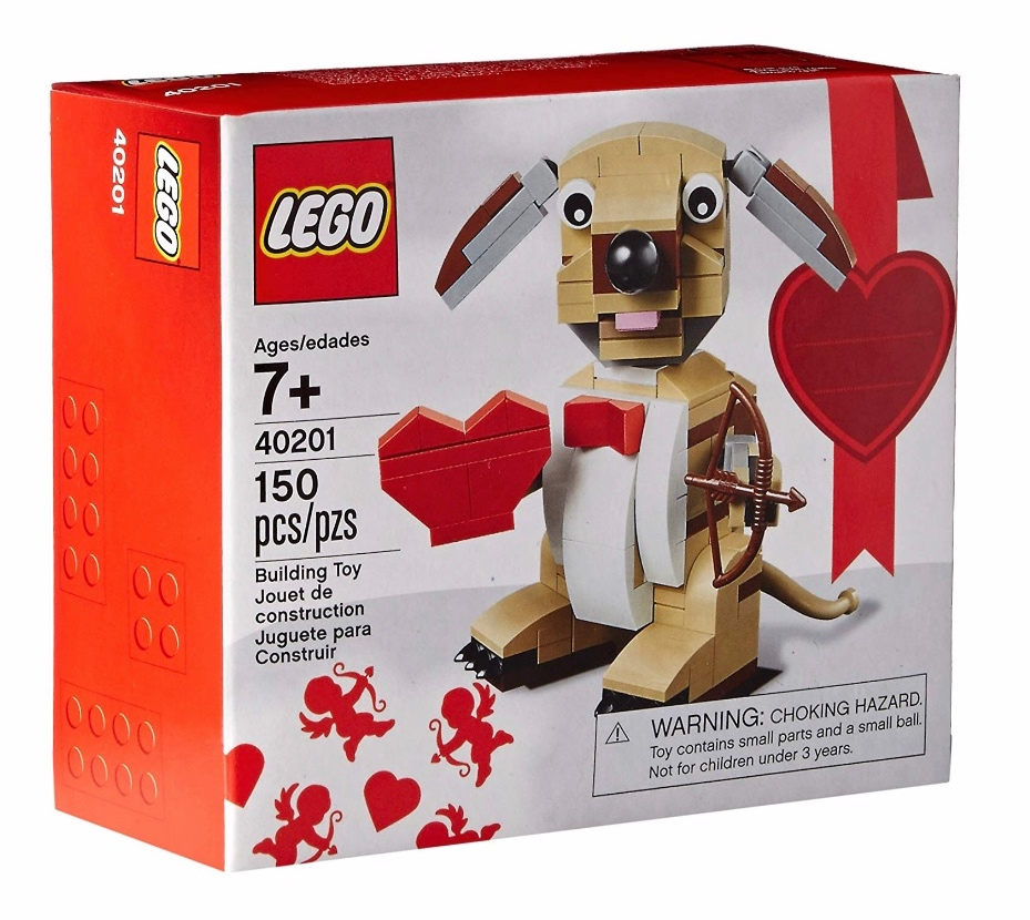 Lego - Valentines Cupid Dog