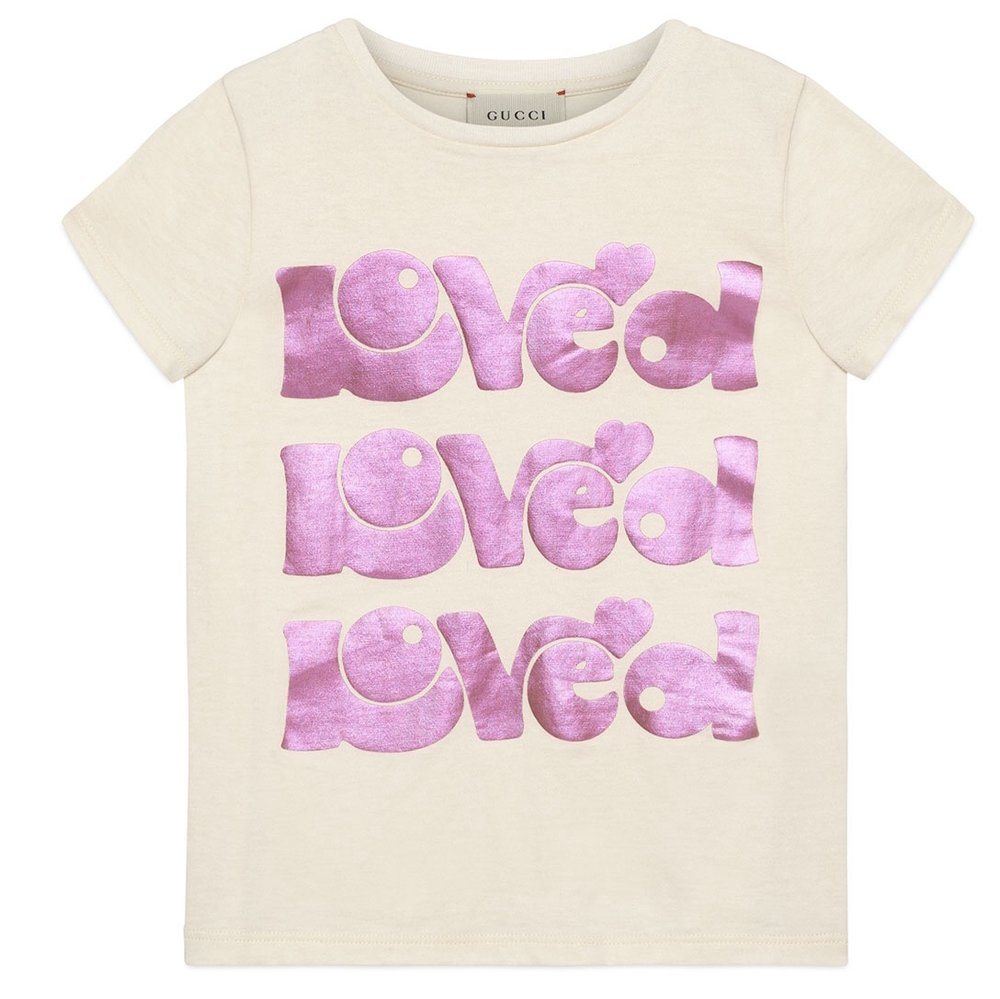 Gucci - Loved Short Sleeve T-Shirt