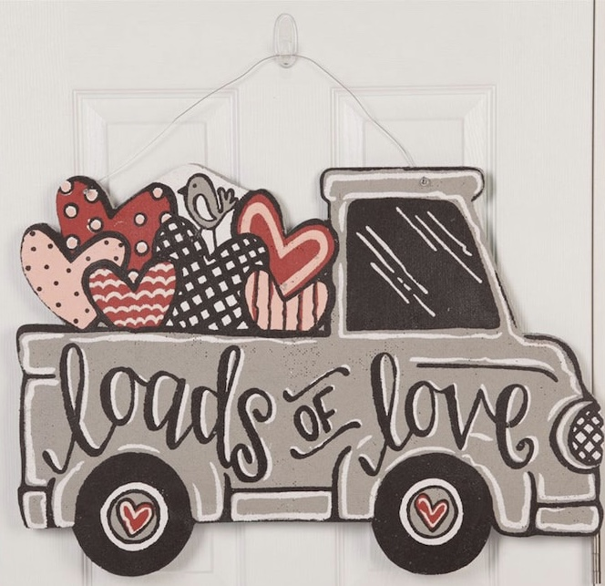 Glory Haus - Loads of Love Valentine's Laundry Sign