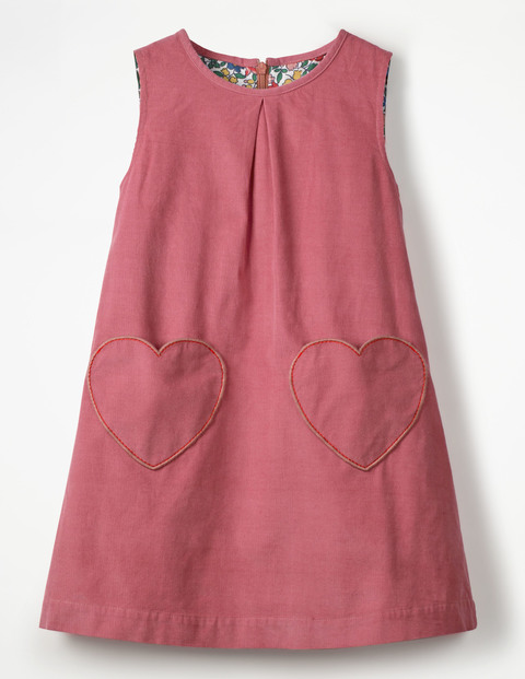 Mini Boden - Novelty Pocket Cord Pinafore